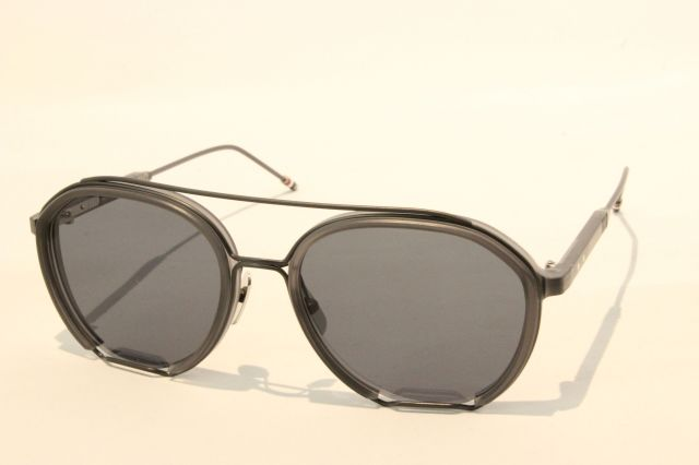 THOM BROWNE(トム ブラウン) TBS-810-03 (Satin Crystal Grey - Black Iron w/ Dark Grey - AR   )