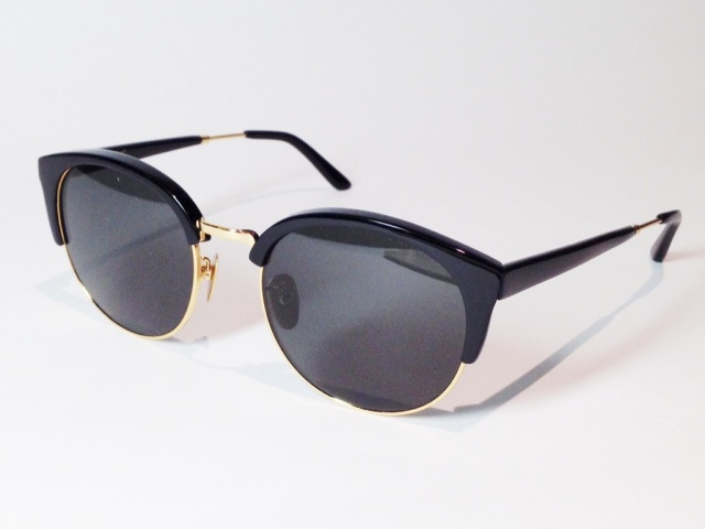 【送料無料】A.D.S.R.(エーディーエスアール) DIMITRI 01 ( Shiny Black / Gold / Black (Clear) )