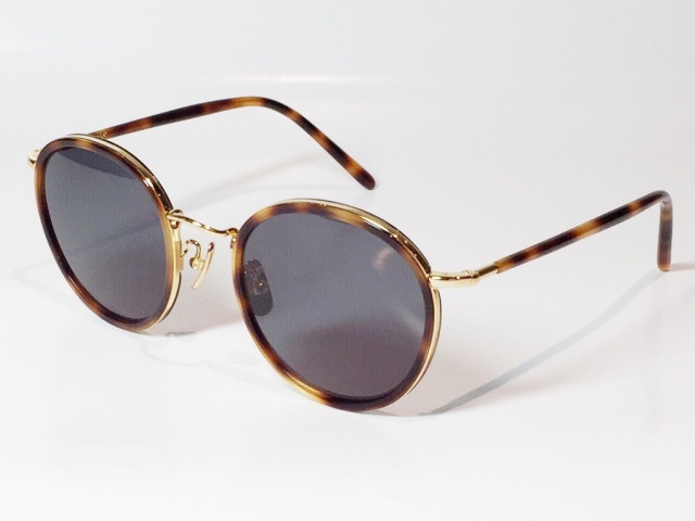 【送料無料】A.D.S.R.(エーディーエスアール) EVANS 08 ( Havana Brown / Gold / Black (Clear) )