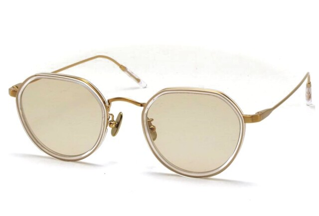 A.D.S.R.(エーディーエスアール) FANNI [ ファニ ] 04 (Clear / Antique Gold / Lt.Brown(Clear))