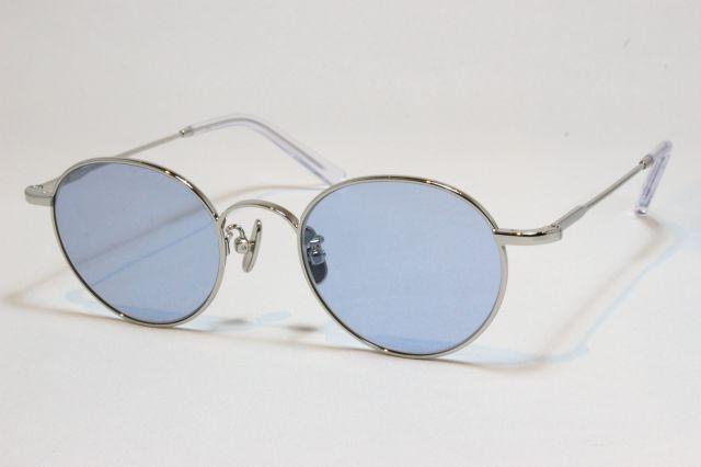 A.D.S.R.(エーディーエスアール) LOU [ ルー ] 02 (Silver Metal / Light. Blue )
