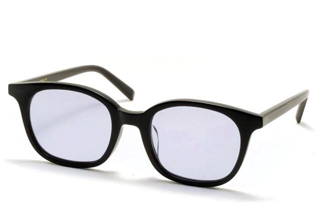 A.D.S.R.(エーディーエスアール) MONK【モンク】  01(d) ( Shiny Black / Light Blue Lens )