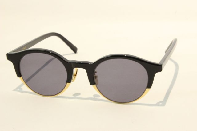 【送料無料】A.D.S.R.(エーディーエスアール) MORE  01 ( Shiny Black / Gold/ Black Lens )