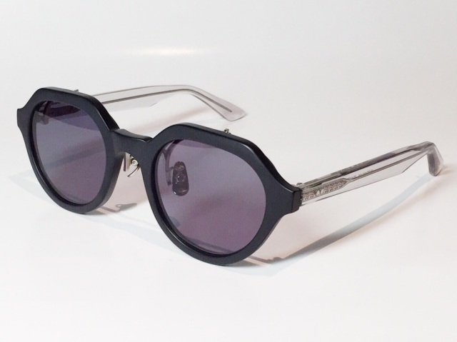 【送料無料】A.D.S.R.(エーディーエスアール) OCEAN  02 ( Matte Black & Clear Gray / Black Lens )