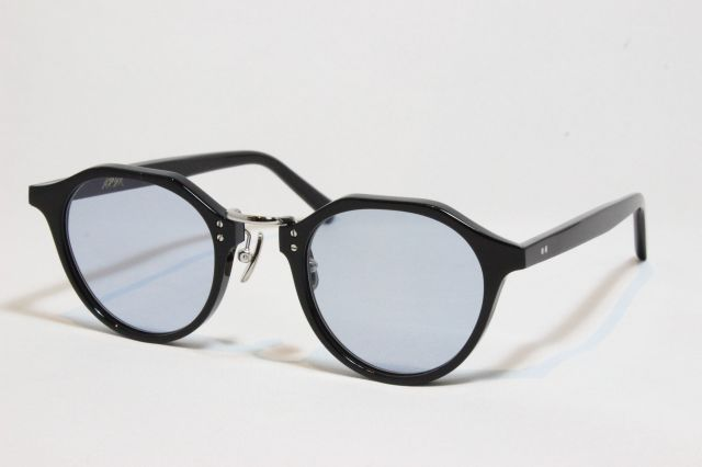 A.D.S.R.(エーディーエスアール) SATCHMO [ サッチモ ] 01 ( Black & Silver Metal / Light. Blue )