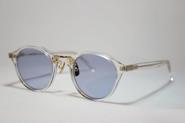 A.D.S.R.(エーディーエスアール) SATCHMO [ サッチモ ] 03 ( Clear & Gold Metal / Light. Blue )