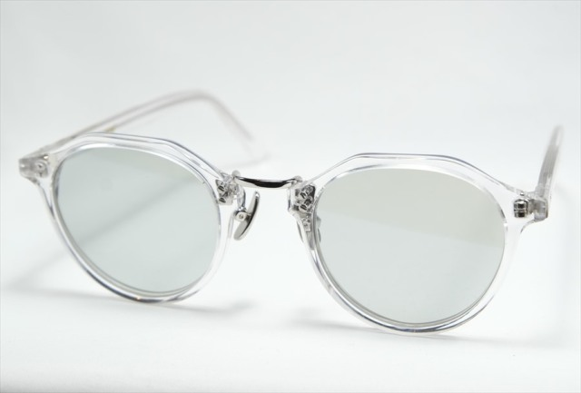 A.D.S.R.(エーディーエスアール) SATCHMO [ サッチモ ] 03(e) (Clear & Silver Metal / Light. Gray-Lens)