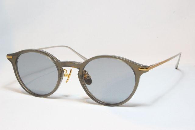 【送料無料】A.D.S.R.(エーディーエスアール) SHELLEY [ シェリー ] 03 ( Charcoal / Gold&Silver Charcoal  (Clear) Lens )