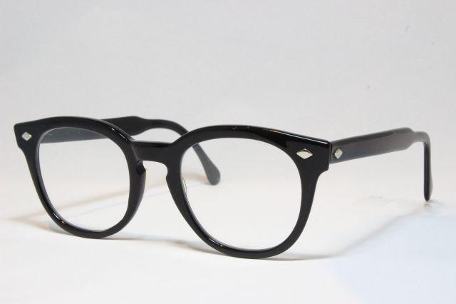 【送料無料】AMERICAN OPTICAL 1950'S アメリカンオプティカル ヴィンテージメガネ ダイヤ鋲 (AO-029)