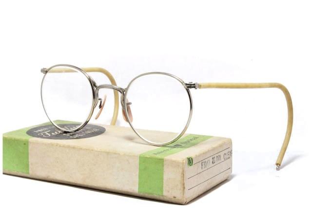【送料無料】AMERICAN OPTICAL FUL-VUE 1930's Dead Stock With BOX アメリカンオプティカル ヴィンテージメガネ
