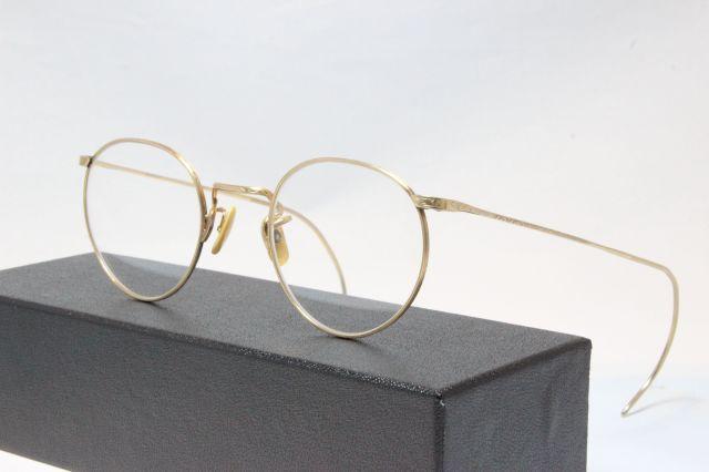 【送料無料】AMERICAN OPTICAL FUL-VUE 1930's 1/10 12KGF アメリカンオプティカル ヴィンテージメガネ (AO-025)