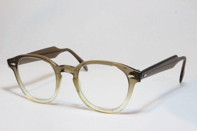 【送料無料】AMERICAN OPTICAL SAFETY 1950's Vintage (Brown) アメリカンオプティカル ヴィンテージメガネ
