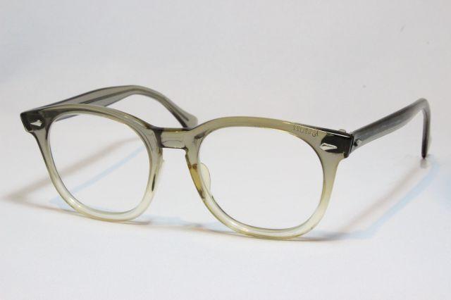 【送料無料】AMERICAN OPTICAL SAFETY 1950's Vintage (Khaki) アメリカンオプティカル ヴィンテージメガネ