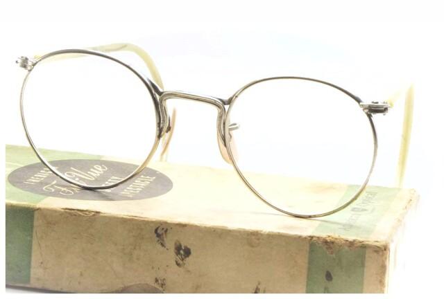 アメリカンオプティカル ヴィンテージ メガネ AMERICAN OPTICAL FUL-VUE 1930's With BOX (AO-032)