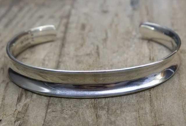 【送料無料】Vintage Mexican Silver 925 Bangle Bracelet (B052) ヴィンテージ メキシカン シルバー 925 バングル ブレスレット アクセサリー ジュエリー