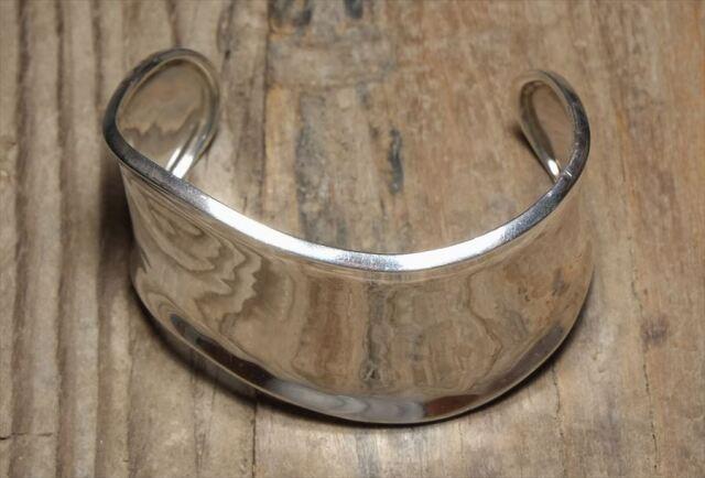 ヴィンテージ メキシカン シルバー (B067) ビンテージ アクセ バングル ブレスレット レア Vintage Mexican Silver 925 Bangle Bracelet