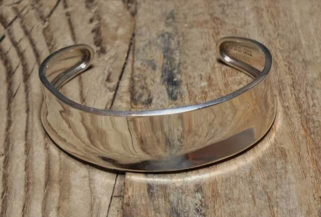 ヴィンテージ メキシカン シルバー (B068) ビンテージ アクセ バングル ブレスレット レア Vintage Mexican Silver 925 Bangle Bracelet