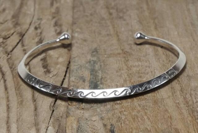 ヴィンテージ シルバー 925 サウスウェスタン (B085) ビンテージ アクセ バングル ブレスレット レア Vintage  Silver 925 Bangle Bracelet