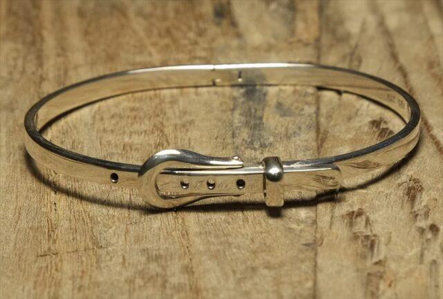 ヴィンテージ メキシカン シルバー (B096) ビンテージ アクセ ベルト ブレスレット レア Vintage Mexican Silver 925 Bracelet
