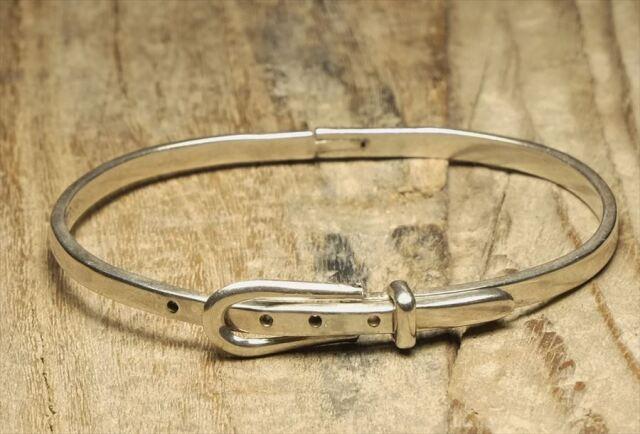 ヴィンテージ メキシカン シルバー (B097) ビンテージ アクセ ベルト ブレスレット レア Vintage Mexican Silver 925 Bracelet