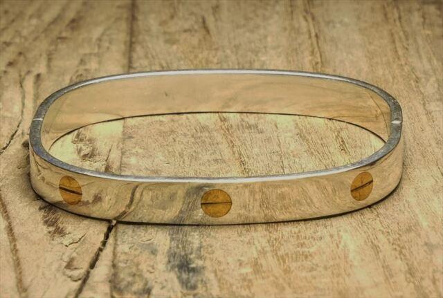 ヴィンテージ メキシカン シルバー (B103) ビンテージ アクセ バングル ブレスレット レア Vintage Mexican Silver 925 Bangle Bracelet