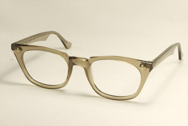 ボシュロム セイフティークロス ヴィンテージメガネ クリア Bausch&Lomb SAETY  CROSS 1960'S Vintage