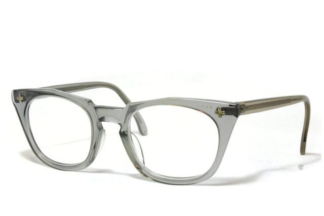 ボシュロム セイフティークロス ヴィンテージメガネ クリア Bausch&Lomb SAETY Z87 CROSS 1950'S Vintage