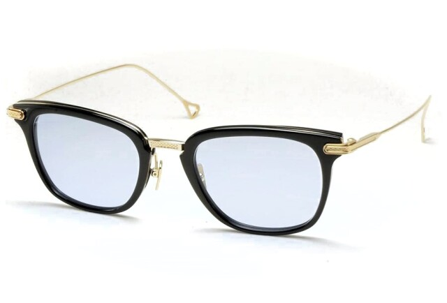 DITA (ディータ) STATE SIDE (ステイトサイド) DRX-2066-E-50 Asia limited Black - Gold (Blue Lens)