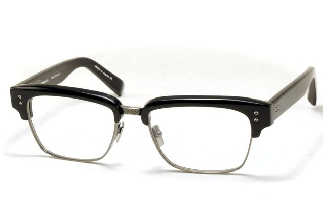DITA (ディータ) STATESMAN 55 (ステイツマン) DRX-2011-G-55 Black - Black Swirl - Antique Silver
