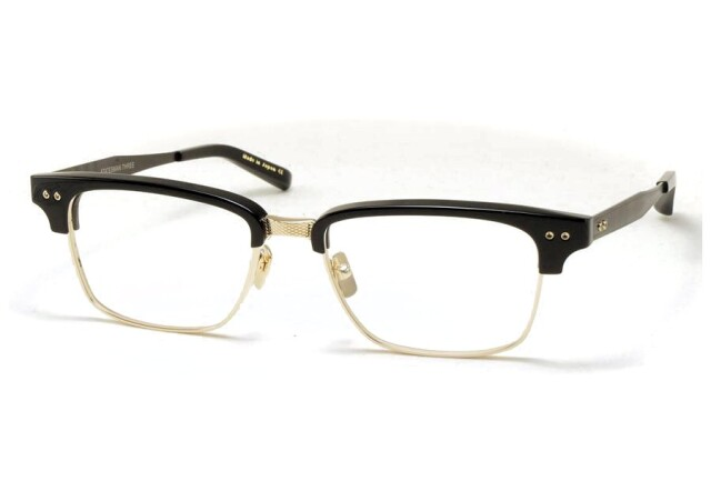 DITA ディータ メガネ 眼鏡 STATESMAN THREE ステイツマン3 55 DRX-2064-B-55 Black-12K Gold