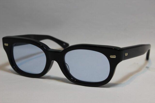 エフェクター ファズ サングラス EFFECTOR fuzz BK(BL) (Black / Blue-Lens)