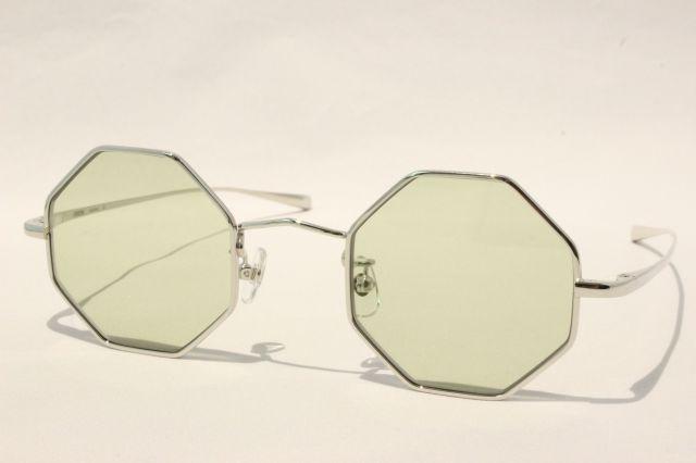 エフェクター スペクトラム サングラス メタル EFFECTOR  Spectrum SI(GN) (Silver / Green-Lens)