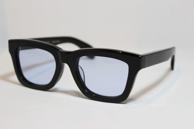 フリーダム スペクタクルス アレン サングラス ブラック FREEDOM SPECTACLES ALLEN (Black/Light Blue-Lens)