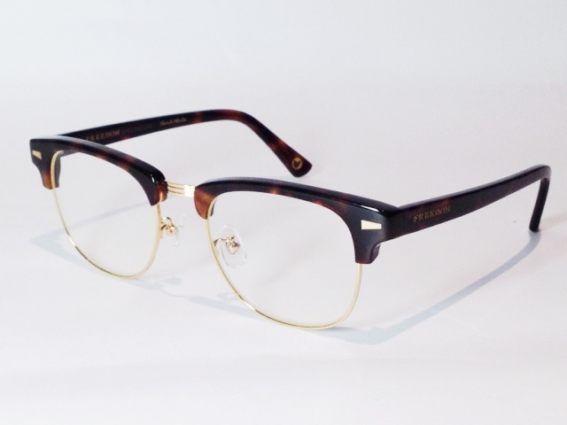 【送料無料】FREEDOM SPECTACLES (フリーダムスペクタクルス) BAKER  COLOR. ( TORTOISE - GOLD / CLEAR )