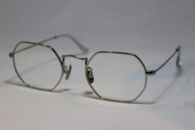 フリーダム スペクタクルス クリス メガネ シルバー メタル FREEDOM SPECTACLES CHRIS Silver (UVカットレンズ付き)