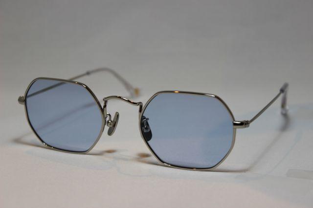 フリーダム スペクタクルス クリス サングラス シルバー メタル FREEDOM SPECTACLES CHRIS (Silver/Light Blue-Lens)