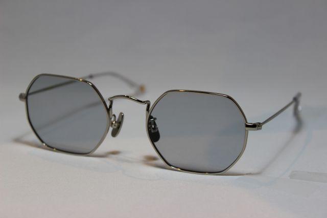 フリーダム スペクタクルス クリス サングラス シルバー メタル FREEDOM SPECTACLES CHRIS (Silver/Light Gray-Lens)