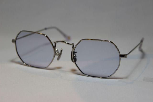 フリーダム スペクタクルス クリス サングラス シルバー メタル FREEDOM SPECTACLES CHRIS (Silver/Light Purple-Lens)