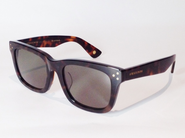 【送料無料】FREEDOM SPECTACLES (フリーダムスペクタクルス) HARRY  COLOR. 03 ( TORTOISE / DARK GREEN )