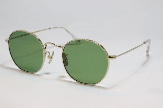 フリーダム スペクタクルス ロペス サングラス ゴールド メタル FREEDOM SPECTACLES LOPEZ (Gold/Green-Lens)