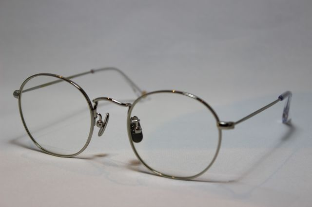 フリーダム スペクタクルス ロペス メガネ シルバー メタル FREEDOM SPECTACLES LOPEZ Silver (UVカットレンズ付き)