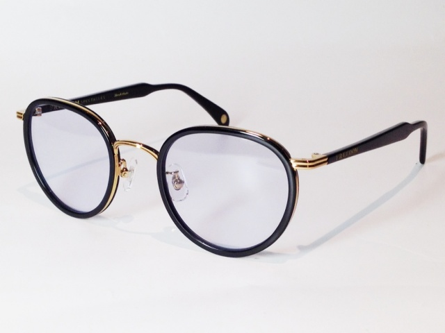 【送料無料】FREEDOM SPECTACLES (フリーダムスペクタクルス) MARLON  COLOR. 11 ( BLACK - GOLD / LIGHT BLUE )