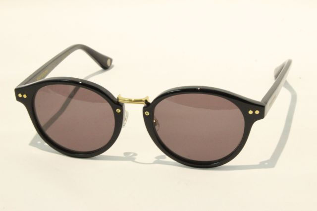【送料無料】FREEDOM SPECTACLES (フリーダムスペクタクルス) MARTIN  COLOR. ( Black - Yellow Gold  / Gray )