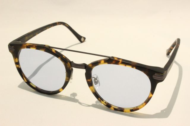 【送料無料】FREEDOM SPECTACLES (フリーダムスペクタクルス) POWELL  COLOR. ( Matte Yellow Tortoise - Matte Dark Gunmetal / Light Blue )