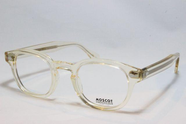 MOSCOT モスコット LEMTOSH  レムトッシュ 46  FLESH (クリア系)メガネ 眼鏡 サングラス 正規販売店 【送料無料】