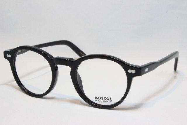 MOSCOT モスコット MILTZEN  ミルゼン size:46 黒( Black ) メガネ 眼鏡 サングラス 正規販売店 【送料無料】