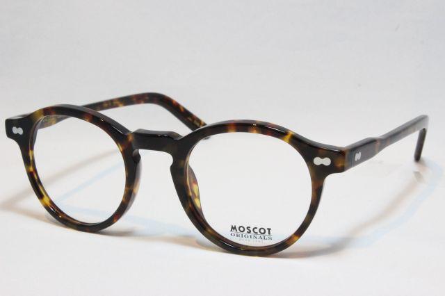 MOSCOT モスコット MILTZEN  ミルゼン size:46 ( Tortoise )メガネ 眼鏡 サングラス 正規販売店 【送料無料】