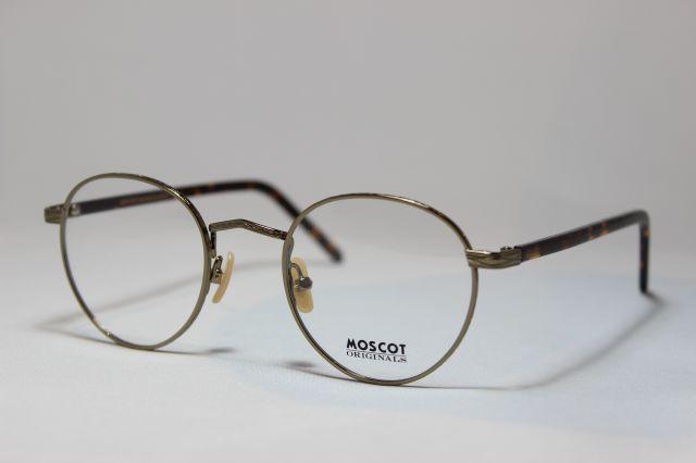【送料無料】MOSCOT(モスコット) ZIS  size:47 ( Antique Gold Tortoise )