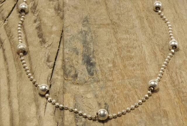 ヴィンテージ イタリア シルバー ジュエリー ネックレス (N019)  Vintage Italy Silver 925 Necklace