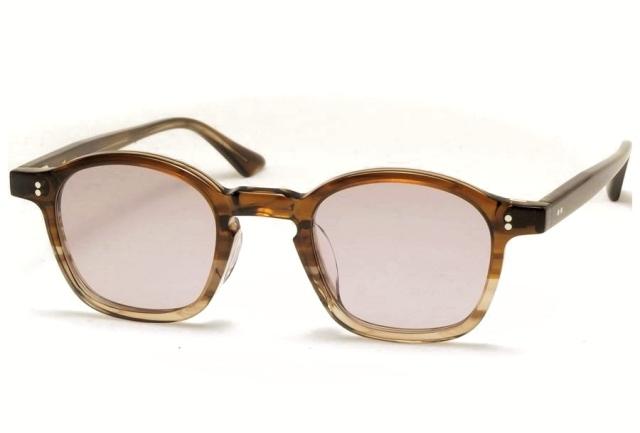 Few by NEW. フューバイニュー (NEWMAN ニューマン) F1 BrownGreySasa ブラウングレーササ 眼鏡 メガネ サングラス
